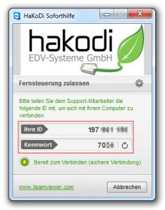 HaKoDi Remote Support